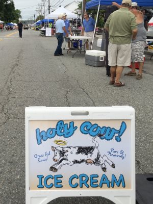 Holy Cow! at street fair in Niantic, Connecticut